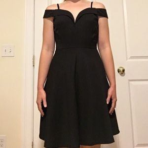 Vintage style little black dress